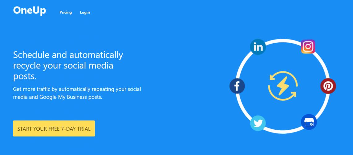 Narzędzia do digital marketingu - OneUp