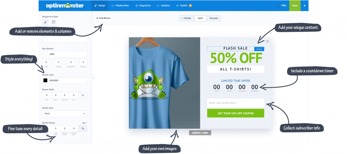 Narzędzia do digital marketingu - OptinMonster