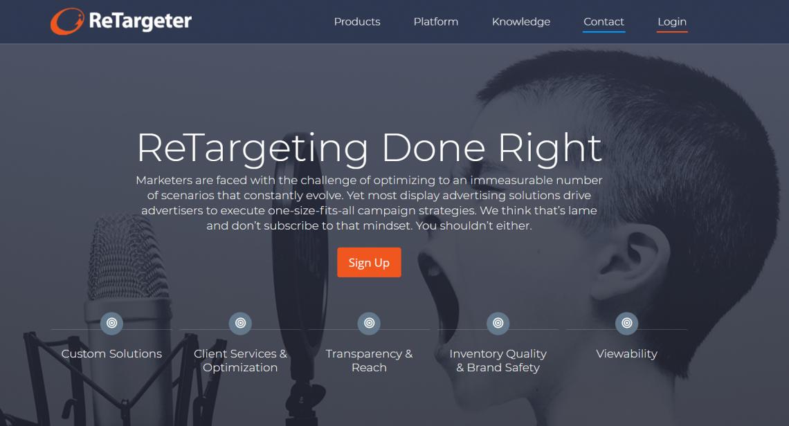 Narzędzia do digital marketingu - ReTargeter