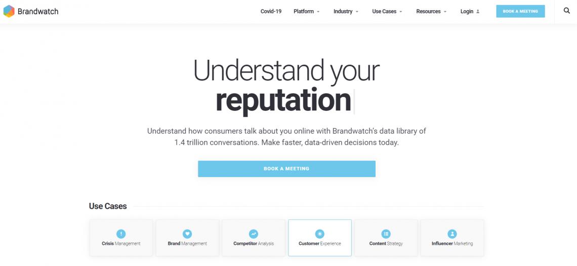 Wizerunek firmy w Internecie - narzędzie Brandwatch