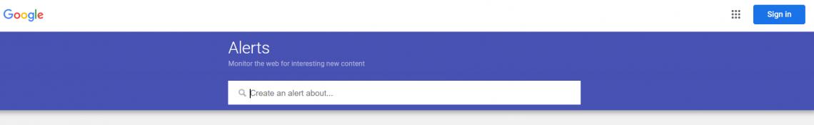 Google Alerts jako narzędzie do szukania insightów i identyfikacji potrzeb klientów