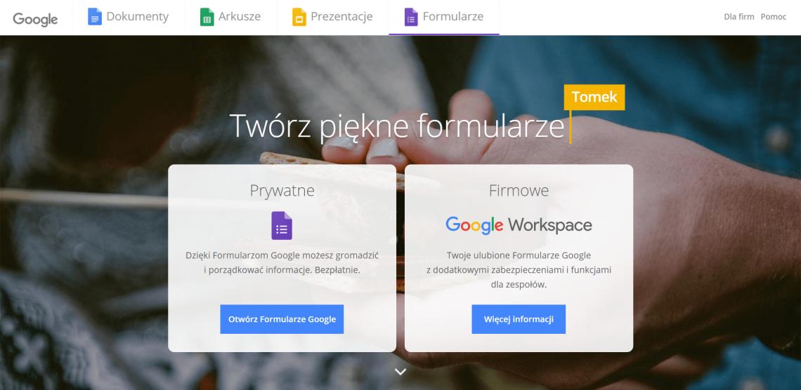 Google Forms jako narzędzie do szukania insightów i identyfikacji potrzeb klientów