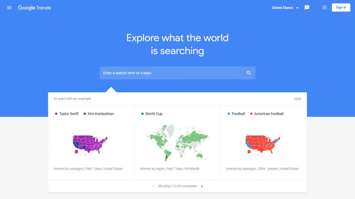 Google Trends jako narzędzie do szukania insightów i identyfikacji potrzeb klientów